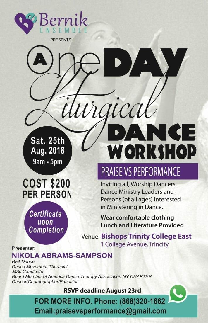 Bernik Liturgical Dance Workshop