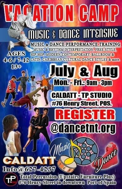 CALDATT - MUSIC & DANCE - MD Intensive Vacation CAMP.